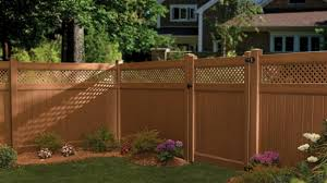 brown vinyl fence panels. Brown Vinyl Fencing Good Fences Make Fence Panels