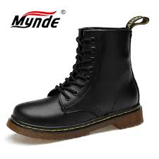 authentischer herbst und winter plush 2019 new brand leather ankle boots autumn winter mens boots fashion