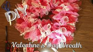 diy dollar tree deco mesh valentine s day wreath