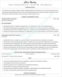 Manager Cv Example