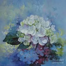 hydrangea painting loving hydrangea by elena oleniuc