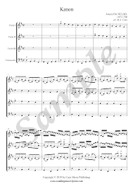 Canon in d sheet music & audio. Pachelbel Canon In D Major Three Violins And Cello Sheet Music Sheet Music Cello Sheet Music Printable Sheet Music
