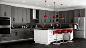 Houzz Dark Grey Kitchen Cabinets