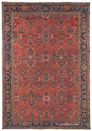 west central persian mahal antique rug