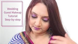 indian wedding guest makeup look tutorial in hindi brush n blush