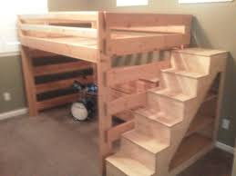 Build Your Own Loft Bed With Stairs Trend Bunk Beds For Kids Plans Cool  Inspiring Ideas Diy W
