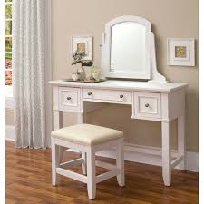 vanity table. home styles naples vanity table, mirror and bench, white table a