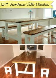 farmhouse bench plan how to build a farmhouse table and benches rustic decor woodworking plans savedbyloves