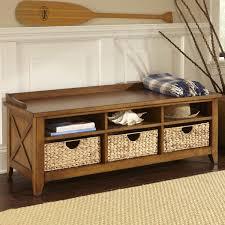 Image of: Foyer Storage Bench Design Ideas