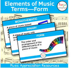 After all, the pattern's already there — you just have to fill in the blanks. Form Or Structure Elements Of Music Terms By Jooya Teaching Resources