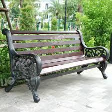 vintage cast iron bench leg end for