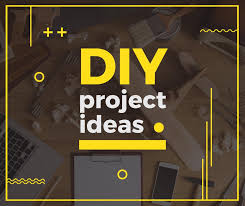 diy project ideas banner create a design