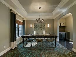 living room crown molding dining room traditional with dark floor neutral colors neutral colors