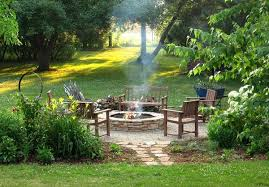 beautiful and calm fire pit area diy fire pit ideas