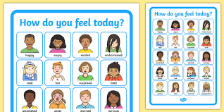 How Do I Feel Today Emotions Chart Teaching Resource Twinkl