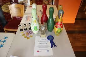 Decorated Bowling Pins SAC News 58