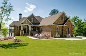 Beautiful Brick Home Plans  amp  Stone House Plans   Don GardnerHouse Plan The Whitcomb