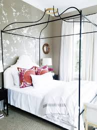 Show House Bedroom Bright White Bold Color Bedroom Cococozy