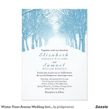 20 best wedding invitations rsvp save the date images on pinterest Zazzle Bling Wedding Invitations winter trees avenue wedding invitation Elegant Wedding Invitations