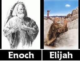Image result for elijah enoch were taken up to heaven in the bible