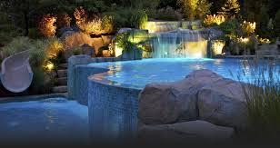 Diy Pool Waterfall Design Pool Swimming Pool Design Ideas Landscaping Network