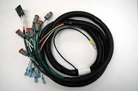wire harnesses and electrical assemblies auto coax cable harness assembly split loom