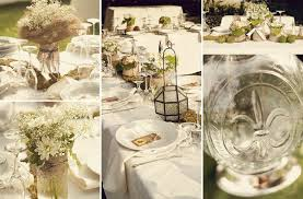 Wedding Decor With Mason Jars chic wedding decor mason jar centerpieces 67