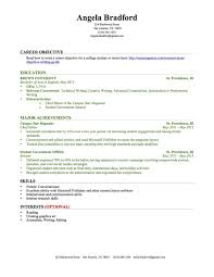 No Experience Resume Awesome What To Write On A Resume With No Experience Canreklonecco