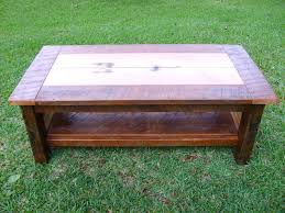 Coffee Table Pine Farmhouse Style Rustic Reclaimed Tables Heart Inspire Q  Edmaire Baluster Weathered For Interior Design Wood Square Coffe