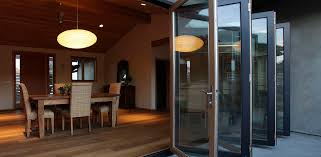 sliding and stacking patio door wooden aluminum double glazed