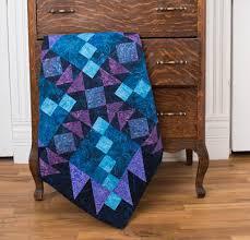 6 Brilliant Batik Quilt Kits to Sew & RJR Malam Batiks Aurora Borealis Quilt Kit Adamdwight.com