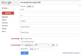 google max attachment size