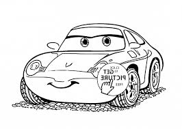 Disney Cars Coloring Pages Sweetlimau