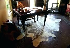 small cowhide rug genuine cowhide rug brindle cowhide rug in tiger print style for living room small cowhide rug