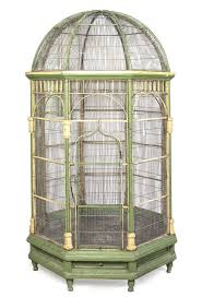 A Victorian Painted Conservatory Birdcage, Height 86 : Lot 123