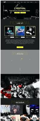 Music Website Templates Inspiration Producer Website Templates Rave Music Template Free Studio And