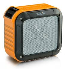 portable outdoor speakers. turcom acoustoshock mini compact portable wireless bluetooth bike speaker (water-resistant, dust- outdoor speakers r