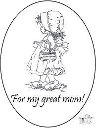 Bedankt Mama Kleurplaten Moederdag