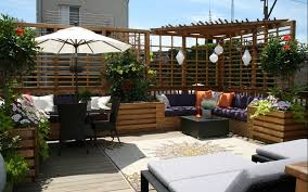 Patio Terrace Design Picture