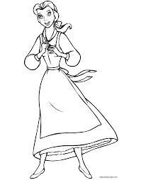 Small Picture Download Coloring Pages Belle Coloring Page Belle Coloring Page