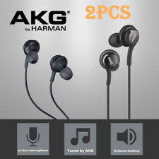 vintage akg headphones. 2x akg headphones headset ear buds eo-ig955 for samsung galaxy s8 s8+ note 8 vintage akg