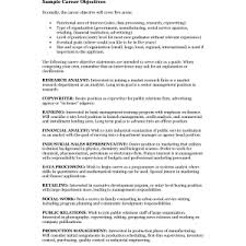 examples of job objectives for resume career examples good objective resume great objectives a career perfect objective for resume