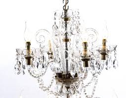 vintage venetian two tier 12 light crystal chandelier for at 1stdibs