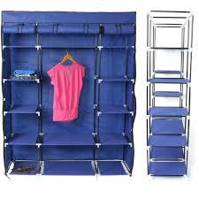 storage closet for clothes sy portable clothes storage closet organizer wardrobe cube with rack shelves storage
