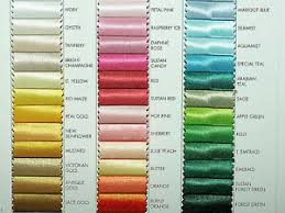 Details About Satin Polyester Fabric Choice Of Color From Chart 1 Yd Bridal Formal Costume