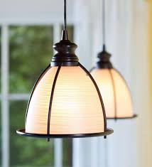 island in brushed bronze and glass cage pendant light traditional pendant lighting houston worth home s