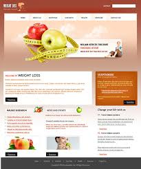 Html Website Templates Simple Website Templates Best Web Templates For Weight Loss