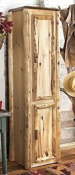 rustic log furniture ideas. perfect storage addition for a log home or cabin rustic furniture ideas e