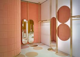 India Mahdavi pairs pink and yellow for Red Valentino store in ...