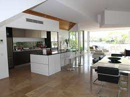 the big trend in home remodeling nowadays is an open concept floor plan where walls separating some rooms are eliminated
